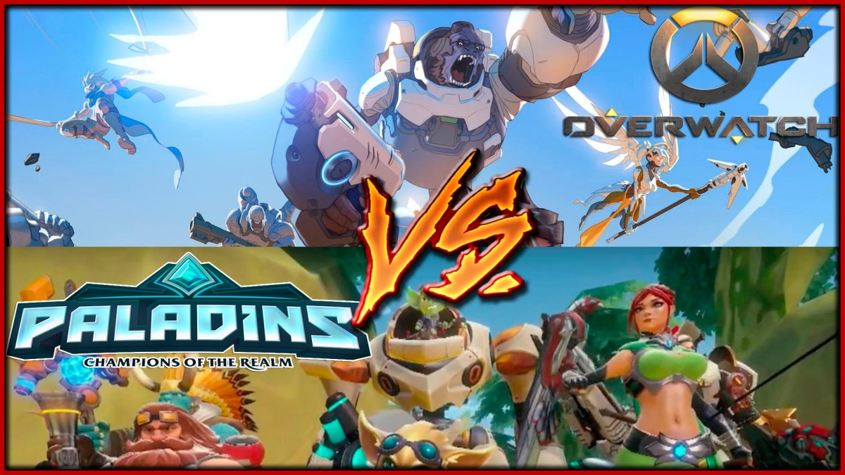 Overwatch VS Paladins - Let's End The Debate.